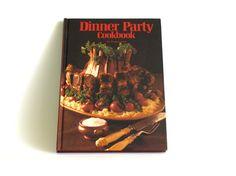 Dinner Party Cookbook by Susan Lloyd  Retro Vintage by FunkyKoala
