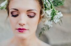 Maquiagem para noiva leve e forte