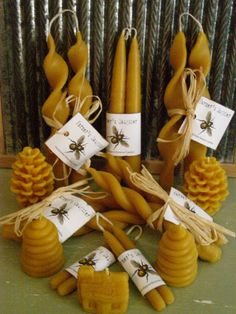 Farmer's Daughter Beeswax Candle Collection. $85.00, via Etsy.