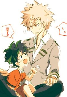 Aww. I really wish that Bakugou treated Deku better, but then again, it wouldn't the same...