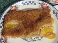 Easy Spiced Fresh Peach Cobbler