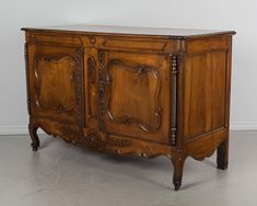 French Louis XV Provencal Buffet or Sideboard French Antiques, Provence, Carving, Iron, Shelves, Storage, Interior, Furniture, Home Decor