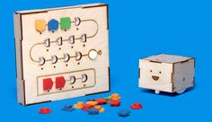 Cubetto the playful wooden robot that helps young children learn to code before they can read - no screen required!