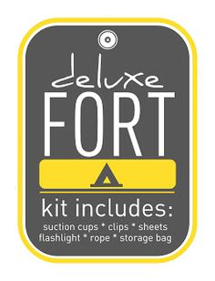 Fort Kit - Great for a little boy