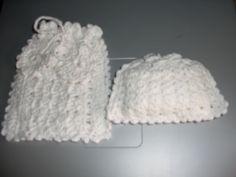 Gehaakte Geurzakjes-Zeepzakjes Crochet Hats, Baby, Craft Work, Knitting Hats, Baby Humor, Infant, Babies, Babys
