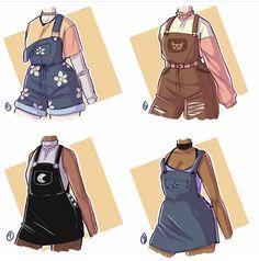 Cartoon Outfits, Anime Outfits, Mode Outfits, Fashion Design Drawings, Fashion Sketches, Kleidung Design, Mode Kawaii, Mode Kpop, Fashion Art