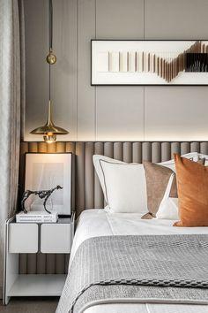 Home Bedroom, Master Bedroom, Bedroom Decor, Bedrooms, Bedroom Colors, Bed Design, Modern Luxury, Condo, Ceiling Lights