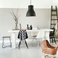 Love this light! I have this hanging in my living room. It gives the space a great industrial/minimal vibe!