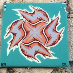 Street art #streetart #tile #porto by antinoo_costa