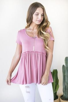 Lost in Love Baby Doll Top