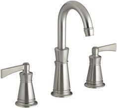 KOHLER K-11076-4-BN Archer Lavatory Faucet with 8-Inch Centers, Vibrant Brushed Nickel Kohler  307.