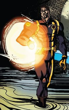 Lucas Bishop from Iceman Vol 4 - 2018 X Men, Comic Art, Fan, Comics, Hand Fan, Cartoons, Comic, Fans, Comics And Cartoons