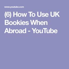 (6) How To Use UK Bookies When Abroad - YouTube