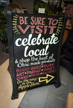Celebrate Local at Easton Town Center in Columbus. Shop the best of Ohio.great handmade gifts and Ohio Proud foods Holiday Gift Baskets, Holiday Gifts, Easton Town Center, Columbus Dispatch, The Buckeye State, Best Honey, Shop Local, Shop Signs, Sign Design