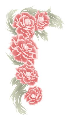 Koujaku's tattoo from Dramatical Murder. They're lotus flowers and I'm seriously considering getting this mainly because I wanted a lotus flower tattoo anyway.