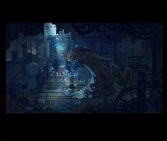 ArtStation - The Candle City 2, yongming yang
