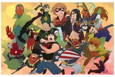 Young Justice vs Young Avengers