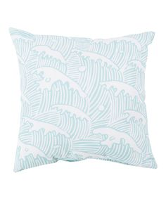 Another great find on #zulily! Mint Wave Throw Pillow by Surya #zulilyfinds