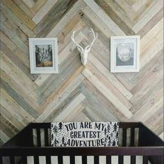 Diy Plank Wall In Herringbone Made From Old Fence Best