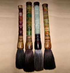 Mao & More calligraphy brushes