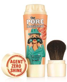 BENEFIT COSMETICS - the Porefessional Agent: Zero Shine Vanishing Pro Powder NIB…