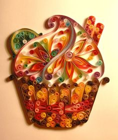 1000 images about quilled thanksgiving cards on pinterest for Big quilling designs