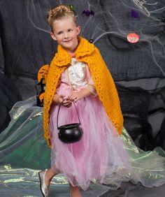 Cape For a Princess Crochet Pattern #halloween #crochet