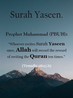 """The name Yasin (Arabic writing : ياسين) is a Muslim boys Names. The meaning of name Yasin is """" The opening letters of the first verse of surat Ya Sin An epithet of the Prophet Muhammad. Beautiful Quran Quotes, Quran Quotes Inspirational, Islamic Love Quotes, Islamic Images, Prophet Muhammad Quotes, Hadith Quotes, Muslim Quotes, Quotes About Allah, Islam Quotes About Life"""