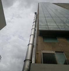 Gas system of centec building (design and construction by Toàn Phát
