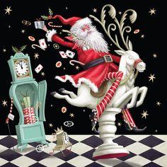 Santaland - Christmas Card  Pack of 5