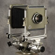 4x5 Sinar Norma Monorail Camera with Schneider 210mm Symmar Lens. #classiccamera #largeformat #sinarnorma