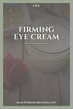 Eyes| DIY| Essential Oils| Eye Cream| Homemade via /lavenderhytta/