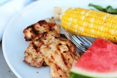 Recipe: Grilled Chicken Thighs with Apricot-Miso Glaze