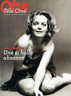 ROMY SCHNEIDER Télé Ciné Obs