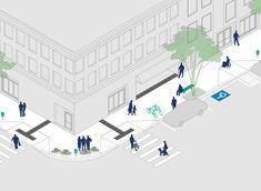Calçada Certa: Prefeitura de Florianópolis disponibiliza manual ilustrado sobre desenho de calçadas
