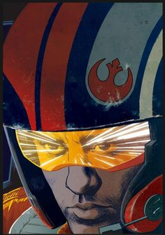 Star Wars: Poe Dameron #5 variant cover by Cameron Stewart.