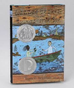 Lizzie Bright & the Buckminster Boy by Gary D. Schmidt, a Newbery Award Honor Book (Calvin professor) Newbery Award, Houghton Mifflin Harcourt, Children's Literature, Book Stuff, Schmidt, True Stories, Cool Words, Professor, Curriculum