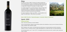 Vino chileno Grey Syrah