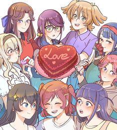Yuri Anime, Character Poses, Httyd, Magical Girl, Rwby, Shoujo, Memes, Comic, Characters