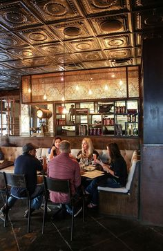 Henry's Majestic | Dallas, Texas | A local restaurant with a festive brunch on weekends, with delicious takes on classic items and a lively atmosphere.