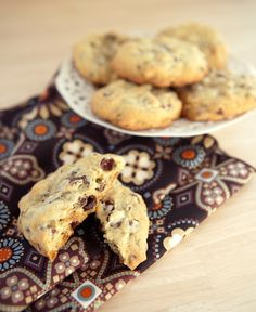 Giant Chocolate Chip Cookies for ice cream sandwiches