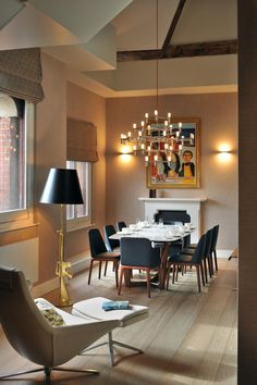 interior St Pancras Penthouse Apartment London Bursting With Personality: Charming St. Pancras Penthouse in London