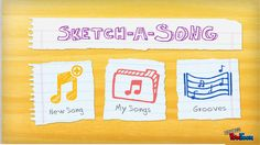 AporTICs: Tutorial de Sketch-a-Song