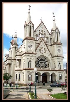 Matriz Church in Itajai City - Itajai, Santa Catarina - Brasil