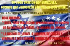 ORACIÓN Israel Jerusalén Venezuela