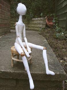 Сгибающиеся ручки и ножки у куклы - Форум