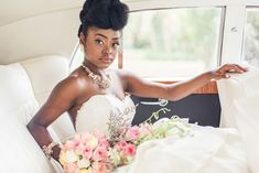 Natural wedding hairstyles 5 wedding hairstyles for black women curlynikki natural hair care Natural Wedding Hairstyles, Bride Hairstyles, Black Women Hairstyles, Hairstyle Ideas, Short Wedding Hair, Chic Wedding, Wedding Bride, Wedding Dress, Natural Hair Care