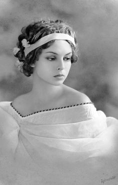 Perfectly posed vintage portrait