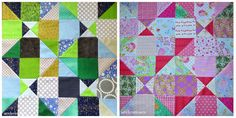 Home Sweet Home blocks from Tutorial from www.quiltingintherain.blogspot.com  Blocks made for Siblings Together charity.