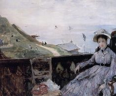 Berthe Morisot - On the Terrace,1874
